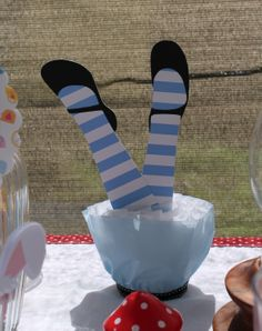 Alice Leg Table Decorations