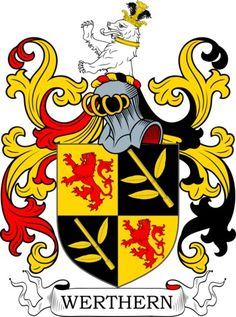 Werthern Family Crest and Coat of Arms