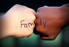 Families come in all colors. #LoveKnowsNoColors