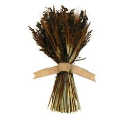 Floral Treasure Harvest Heartland Collection 19 in. Sheaf by Floral Treasure. $39.99. Crafted from eucalyptus, bearded wheat, and more. Measures 19 in. high. Accented with a beautiful burlap bow. Best for indoor decorative use. Lovely fragrance and mix of browns and greens. The unique beauty of Floral Treasure Floral Treasure grows a variety of flowers, eucalyptus, herbs and grains. They then design unique and beautiful floral arrangements usin...