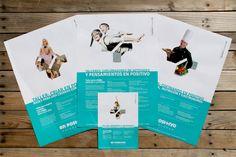 Rediseño de logotipo y manual corporativo para #enpositivo por #Dika. #estudio #studio #proyecto #project #málaga #diseño #design #rediseño #redesign #gráfico #graphic #creatividad #creativity #marca #branding #logotipo #logotype #identidad #coporativa #visual #corporate #identity #visual #naming #flyers #invitation #diptych #restyling #pantone #aguamarina #aquamarine