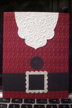 Christmas card make-n-take