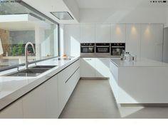 Sinibaldi Projet cuisine-Cassis 1 – … – Famous Last Words Luxury Kitchens, White Kitchen Design, Home Decor Kitchen, Kitchen Room Design, House, Luxury Kitchen Design, Minimalist Kitchen, Kitchen Furniture Design, Modern Kitchen Design