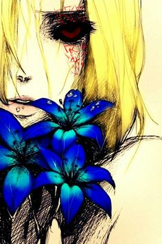 Anime girl ghoul