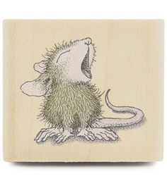 Stampabilities House Mouse Rubber Stamp - Boring : stamps : stamping : scrapbooking : Shop | Joann.com