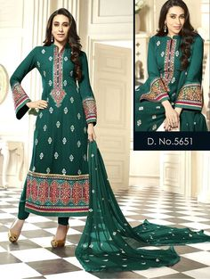 Anarkali Indian Salwar Kameez New Suit Ethnic Pakistani Dress Bollywood Designer #TanishiFashion #Straightcut