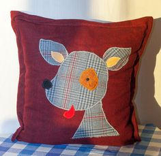 Shop for on Etsy, the place to express your creativity through the buying and selling of handmade and vintage goods. Pencil Pouch, Norway, Decorative Pillows, Pillow Cases, Cushions, Kawaii, Wreaths, Throw Pillows, Dog