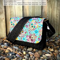 Good-To-Go Messenger Bag - two pretty poppets