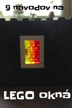 Lego okná postavené klasicky aj technikou SNOT. Lego Architecture, Chevrolet Logo