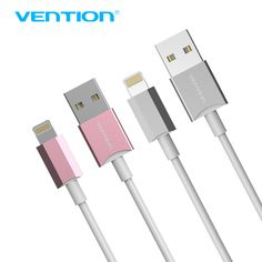 Vention 8Pin USB Charging Charger Data Sync Adapter USB Cable 1m Charging Cord for Apple iphone 5/5s/5c/6/6 Plus  VAI-C02