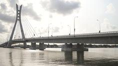 Lekki-Ikoyi bridge in Lagos, Nigeria Tourism, Africa, Country, World, Bridges, City, Pictures, Travel, Federal