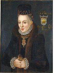 Brahe Ebba, 1555-1634, g. Sparre