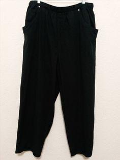 "19.30$  Watch now - http://vifmp.justgood.pw/vig/item.php?t=64u8p155687 - Dressbarn Womens Pants 2X (34"" to 44"" waist) (26"" Inseam) Textured Black Slacks 19.30$"