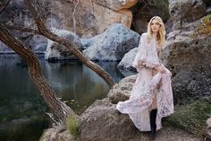 Spring's trend of light and airy dresses takes the spotlight in the March 2016 issue of ELLE US with an editorial called, 'Cut Loose'. Model Zlata Semenko poses for Yelena Yemchuk (2b Management) in an outdoor setting wearing the designs of Chloe, Roberto Cavalli, Saint Laurent and more labels. Fashion editor Samira Nasr selects a …