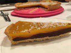 Crustpie #chocolateganache #mangojelly #sweet&fresh