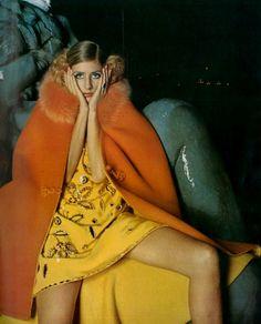 Jill Kennington   Vogue 1967