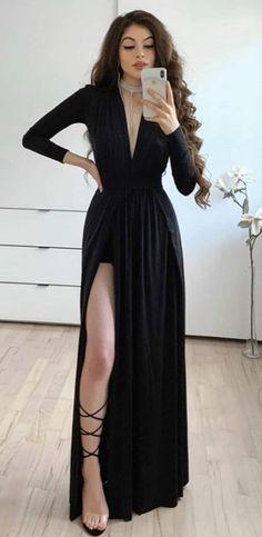 Long Gown Elegant, Dresses For Work, Prom Dresses, Formal Dresses, Party Wear, Party Dress, Korean Street Fashion, Classy Dress, Designer Dresses