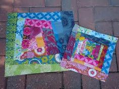 15 Minutes of Play – Crazy Patchwork Picnic Blanket, Outdoor Blanket, Patchwork Tutorial, Crazy Patchwork, Quilting Tutorials, Scrap, Quilts, Fabric, Cushion Ideas
