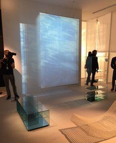 GLAS ITALIA at Maison&Objet Paris January 20/24, 2017 SILENCE exhibition | DEEP SEA coffee table and bookcase design Nendo | #glasitalia #mo17 #nendo www.glasitalia.com