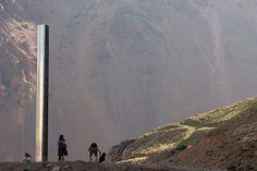 Monolith. Punta de Vacas' Park. Mendoza. Argentina