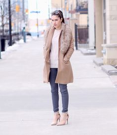 """#Spotted @ #Canada ! #Anderne """" #ICameForYou """" #oversized #round style loved by blogger #VanessaCesario http://#www.thebrunettesalad.com"""