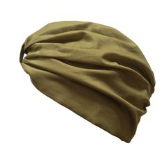 Turban with Front & Back Tie - Khaki Green