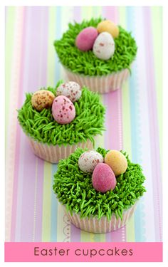 Easter Egg Cupcakes ;)