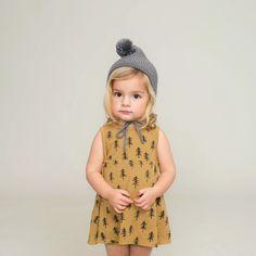 Love seeing a neutral palette on a little girl, esp when it's so chic. Rylee and Cru #estella #girls #fashion #designer