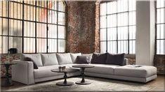 25 Modern Contemporary Sofa Design For Comfortable Living Room Ideas Italian Sofa, Italian Furniture, Modern Furniture, Furniture Design, French Furniture, Leather Living Room Furniture, Couch Furniture, Moderne Couch, Modern Sofa Designs