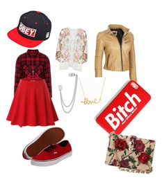 """""""Red"""" by violettalikesleon on Polyvore"""