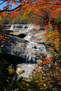 Waterfall at Graveyard Fields - The National Park Service has announced that Graveyard Fields, located at Milepost 418 on the Blue Ridge Parkway, has now reopened; equipped with a new comfort station and 40 new parking spaces.