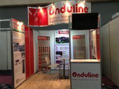 Diseño de Stand 3×3 para Onduline en Cancún