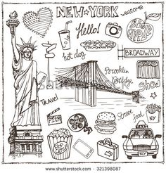 american style street doodle words - Google 搜尋