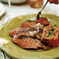 Grilled Steaks with Sweet-Spicy Hoisin Sauce | Susan Feniger likes to ...