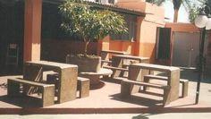 como se faz mesa de cimento alvenaria para area de churrasqueira - Pesquisa Google
