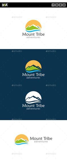 Mount Tribe Adventures - Logo Design Template Vector #logotype Download it here: http://graphicriver.net/item/mount-tribe-adventures/10418979?s_rank=1241?ref=nesto