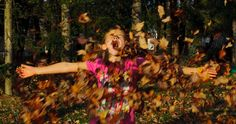 Fall is a great time for photographs, and taking photographs of your kids playing in leaves is just one of the possibilities. Here are som. Great Photos, Autumn Leaves, Kids Playing, Photography Tips, Have Fun, Photographs, Painting, Fall Leaves, Photos