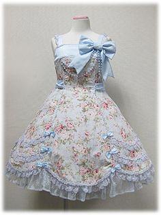 angelic pretty フルールハミングジャンパースカート