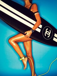 Chanel surfboard