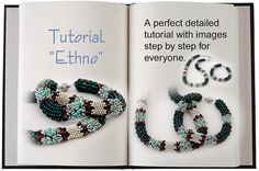 Jewelry Tutorial.... Ethno ... Necklace and Bracelet di SeeBead