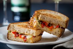 Piperade Grilled Cheese