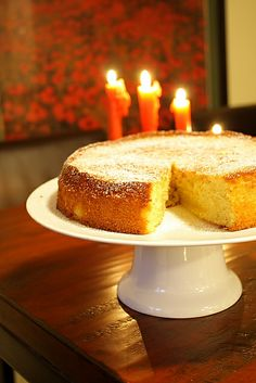"Saffron Cake December is St Lucia Day in Sweden and traditionally you have saffron bread on lucia ""Lussekatter."" You can actually make anything saffron and this year I decided to make this amazing moist sa… Saffron Buns Recipe, Saffron Cake, Saffron Recipes, St Lucia Day, St. Lucia, Saint Lucia, Noel Christmas, Christmas Baking, Christmas Goodies"