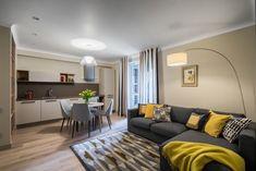 Decor confortabil intr-un apartament de 3 camere- Inspiratie in amenajarea casei - www.povesteacasei.ro