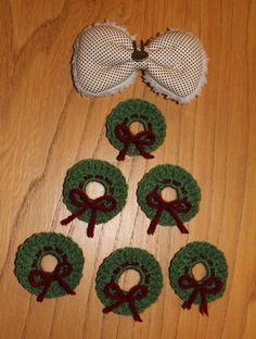 Kerstkransje / Tiny Christmas Wreath