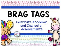 This download contains 75 fairy tale themed brag tags to celebrate character traits and academic achievements.  A fun, positive way to encourage and reward your students.  These brag tags have fairies, unicorns, wizards, garden gnomes, trolls, royalty and more.Looking for free brag tags, find them here: Fall Brag TagsLooking for positive behavior classroom posters, find them here:Positive Behavior PostersThank you for visiting my store!