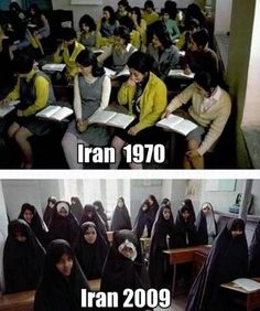 Stop sharia law and the Muslim Brotherhood. If Iranian women would have fought back in 1970 today they would be seen as equals not property. What's OUR EXCUSE for not fighting? We SEE what our FUTURE will be like. STOP SHARIA LAW IN THE USA! Keep your RIGHTS! (2015)