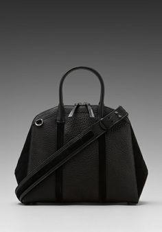 MACKAGE Onelia Large Zipper Tote in Black -