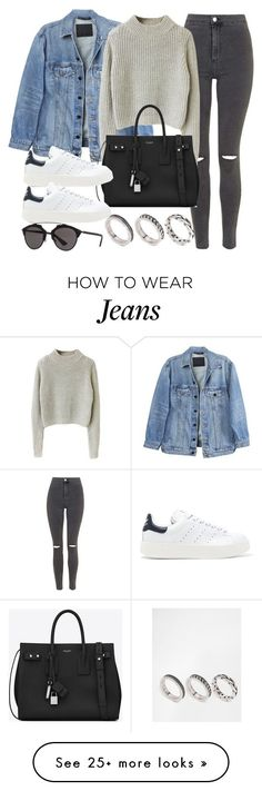 Sin título #12063 by vany-alvarado on Polyvore featuring Y/Project, Topshop, Yves Saint Laurent, adidas Originals, Christian Dior and ASOS