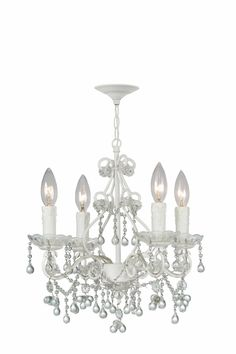 Love this chandelier for this little princess!
