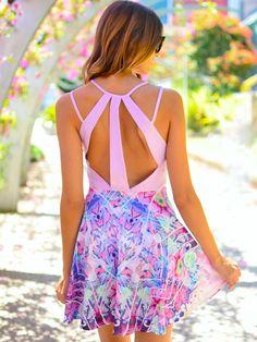 Indigo Dress Lilac at Mura Boutique 2013 style